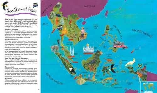Barefoot Books World Atlas- Kid World Citizen