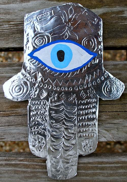 Hamsa Multicultural Craft from the Middle East- Kid World Citizen