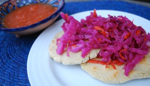 El Salvador Pupusas and Curtido- Kid World Citizen