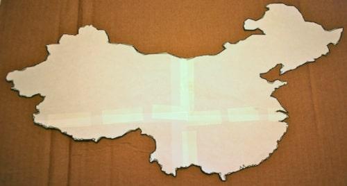 3D Salt Dough Maps for Kids State Map Salt Dough Landform Project on salt dough project california regions map, 3d landform project map, create your own island project map,