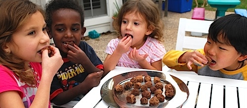 Enjoying Banana Doce Sweets- Kid World Citizen