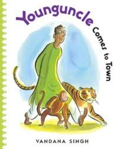 Young Uncle Comes to Town India Book Kids- Kid World Citizen