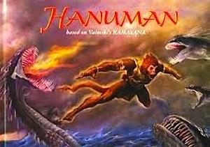 Hanuman Book about India Ramayana- Kid World Citizen