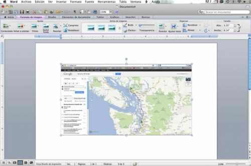 Insert Map Into Word Document- Kid World Citizen