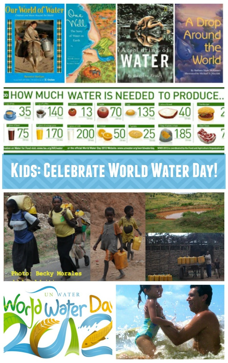 World Water Day Resources Celebrate Kids- Kid World Citizen