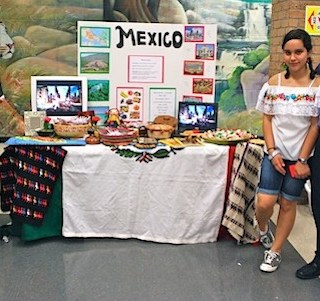 International Night Country Table Mexico- Kid World Citizen