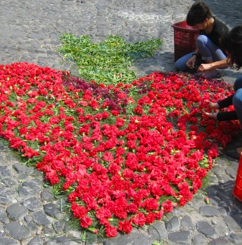 Flower Alfombra Guatemala- Kid World Citizen