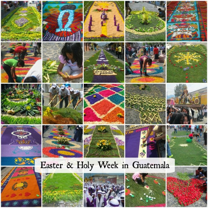Guatemala Holy Week Alfombras- Kid World Citizen