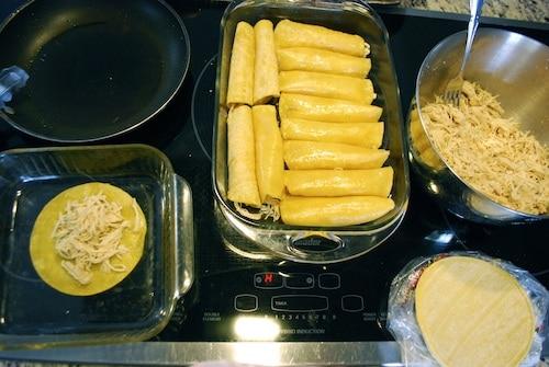 Assembling Enchiladas- Kid World Citizen
