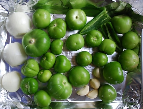 Salsa Verde Ingredients- Kid World Citizen