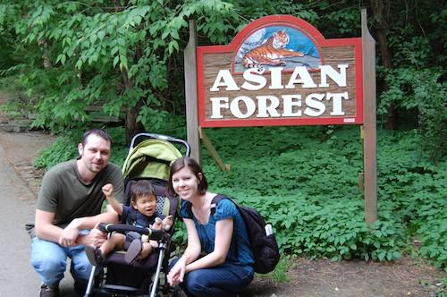 Family at Zoo- Kid World Citizen