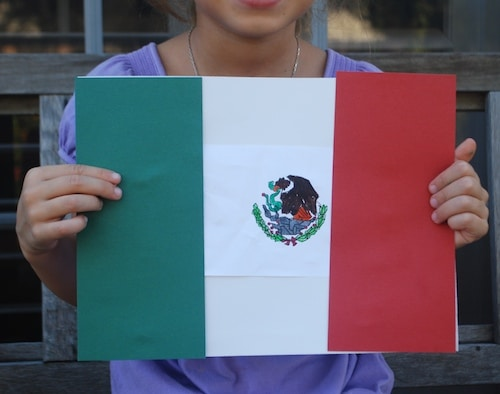 The Story of the Mexican Flag