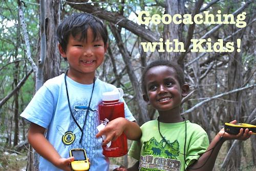 Geocaching with Kids Adventure- Kid World Citizen