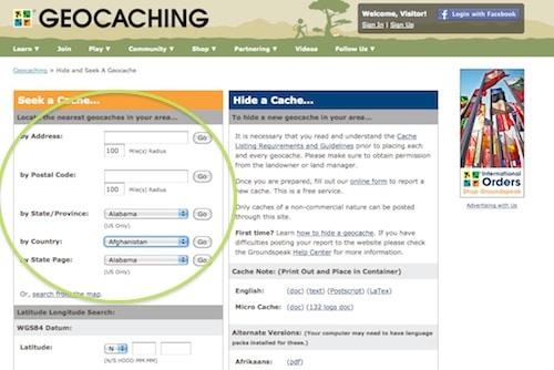 Geocaching com- Kid World Citizen