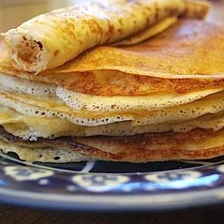 "Dutch Pancakes: ""Pannekoeken"""