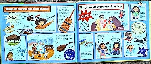 Wagons Ho Book- Kid World Citizen