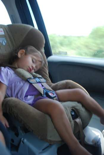 Sleeping in the Car Mexico- Kid World Citizen