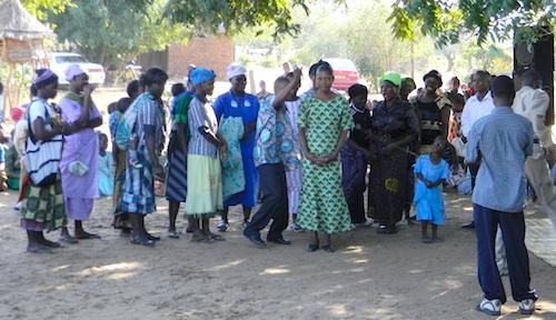 Malawi Wedding bride- Kid World Citizen