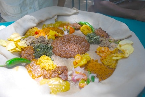 Ethiopian Food Injera- Kid World Citizen