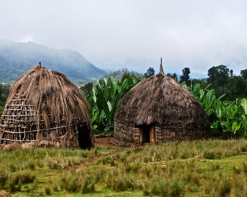 Ethiopian Houses in the Country- Kid World Citizen