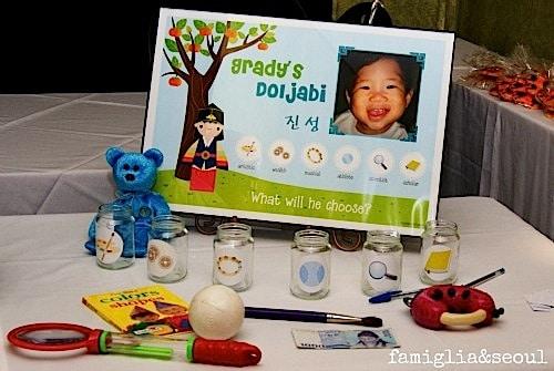 Doljabi Table Korean Kids Birthday Party- Kid World Citizen