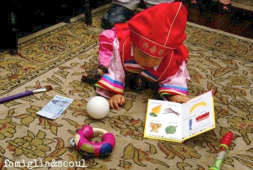 Grady Choosing Doljabi Korean Birthday- Kid World Citizen