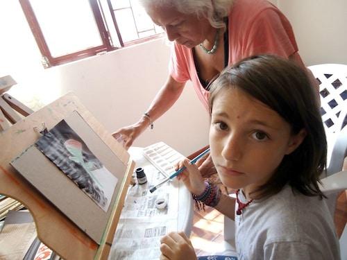 Miro Painting- Kid World Citizen