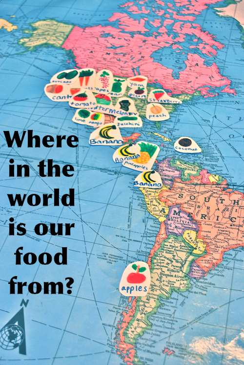 Where in the World is your Food from? (Food Mapping!) on world travel, world shipping lanes, world glode, world flag, world wide web, world military, world wallpaper, world records, world statistics, world most beautiful nature, world projection, world globe, world border, world war, world hunger, world of warships, world earth, world culture, world history, world atlas,