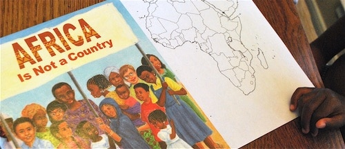 Africa is not a Country Book- Kid World Citizen
