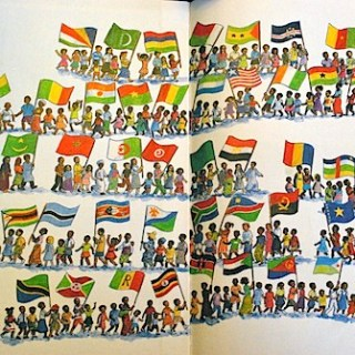 African Flags Book- Kid World Citizen