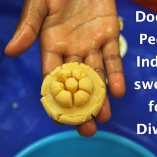 Doodh Peda Indian Sweets- Kid World Citizen
