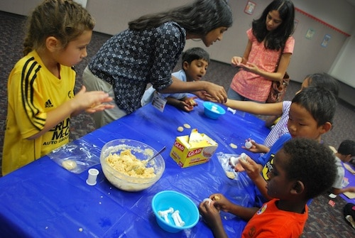 Kids Making Indian Sweets for Diwali- Kid World Citizen