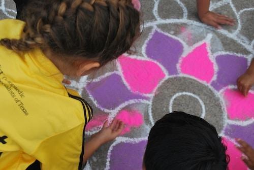 Kids Rangoli Diwali- Kid World Citizen
