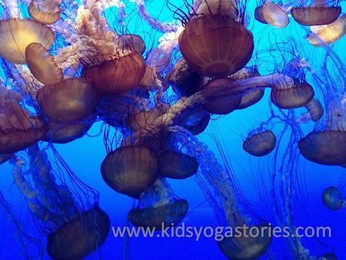 Yoga for Kids Jellyfish- Kid World Citizen