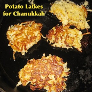 Potato Latke Recipe for Chanukkah- Kid World Citizen