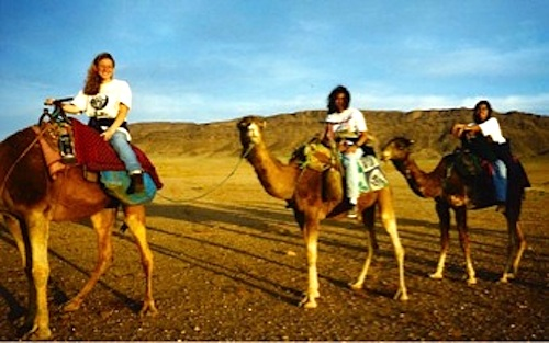 Riding Camels in Morocco- Kid World Citizen