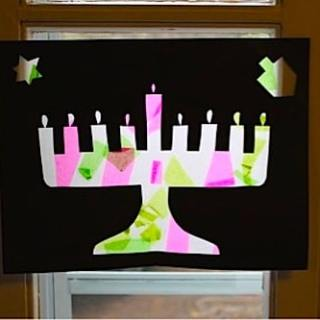 Getting Creative at Chanukkah: A Craft for Kids