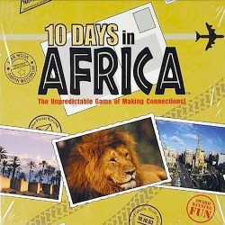 10 Days in Africa Geography Game- Kid World Citizen
