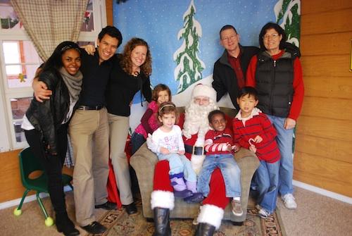 Christmas Family Traditions Santa- Kid World Citizen