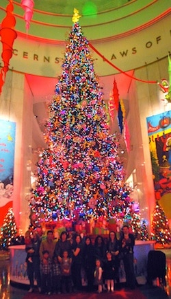 Christmas Trees Museum Science Industry- Kid World Citizen
