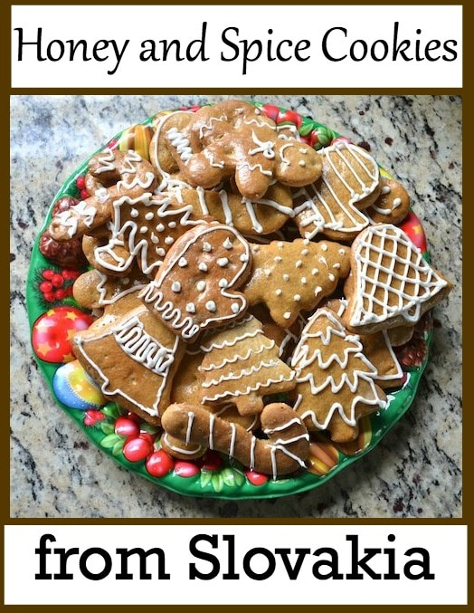 Christmas in Slovakia Recipe Spice Cookies Kids- Kid World Citizen