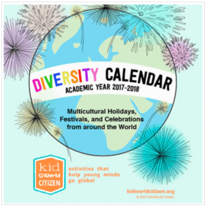 Diversity Multicultural Calendar- Kid World Citizen