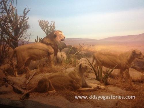 Lion Yoga for Kids- Kid World Citizen