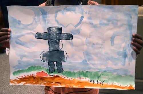 Arctic Painting Project Kids- Kid World Citizen