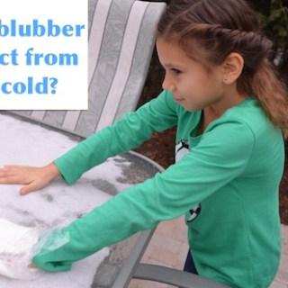 Blubber Experiment- Kid World Citizen
