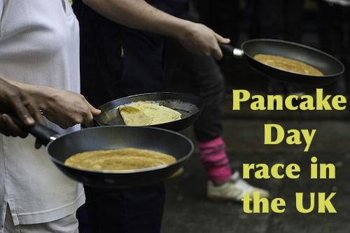 Pancake race London Pancake Day- Kid World Citizen