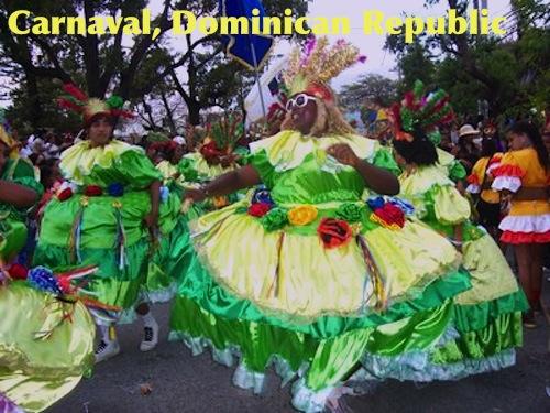 Robagallina Dominican Republic Carnaval- Kid World Citizen