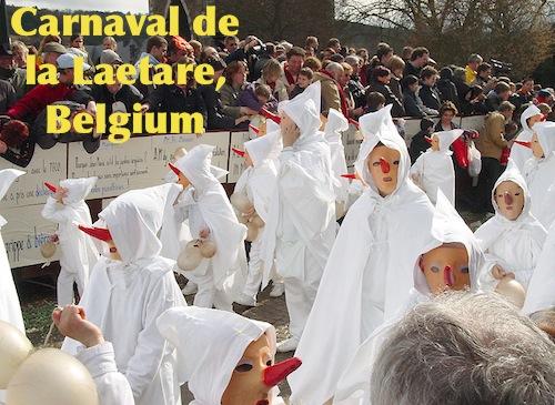 Blancs Moussis Procession Belgium Carnival- Kid World Citizen