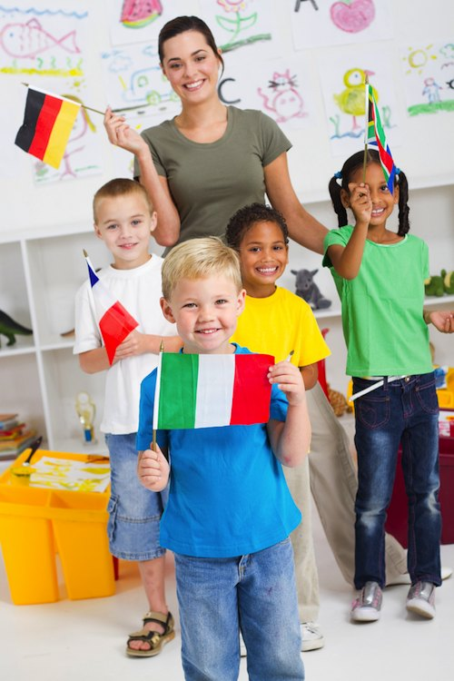 Italian Expat School Children- Kid World Citizen