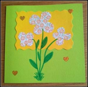 Spring Now Ruz Card Exchange- Kid World Citizen